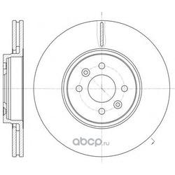 Тормозной диск (Remsa) 6104910