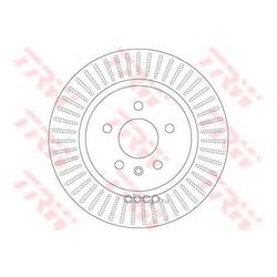 Тормозной диск (TRW/Lucas) DF6371