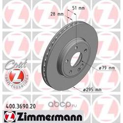 Тормозной диск (Zimmermann) 400369020