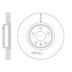 Тормозной диск (Remsa) 6154310