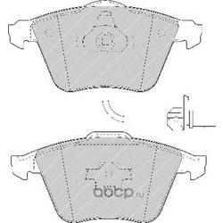 Комплект тормозных колодок, дисковый тормоз (Ferodo) FDB1629