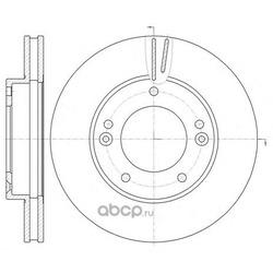 Тормозной диск (Remsa) 699210