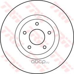 Диск тормозной передний (TRW/Lucas) DF4989S