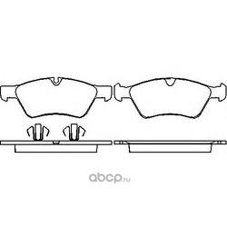 Колодки тормозные дисковые TEXTAR (Textar) 2392201