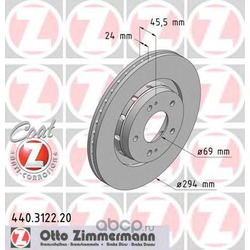 Тормозной диск (Zimmermann) 440312220
