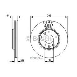 Тормозной диск (Bosch) 0986479551