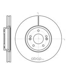 Торм.диск пер.вент.[321x28] 5 отв MIN 2 (Remsa) 6110210