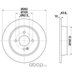 Тормозной диск (Mintex) MDC2382