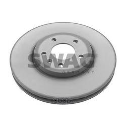 Диск тормозной передний вентилируемый (Swag) 40939210