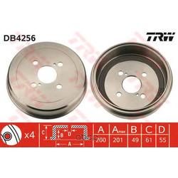 Барабан тормозной (TRW/Lucas) DB4256