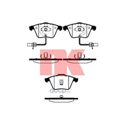 Колодки тормозные дисковые передние / AUDI A6 02~05 (Nk) 224758