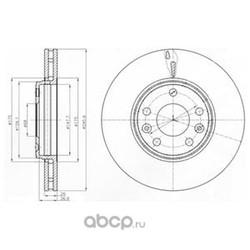 Тормозной диск (Delphi) BG4264