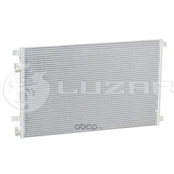 Радиатор кондиционера (конденсер) (Luzar) LRAC0909