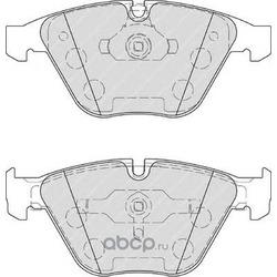 Комплект тормозных колодок, дисковый тормоз (Ferodo) FDB4221