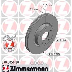 Тормозной диск (Zimmermann) 370305020