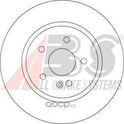 Тормозной диск (Abs) 17109