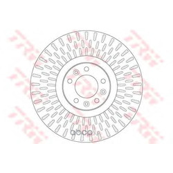 Тормозной диск (TRW/Lucas) DF6427S