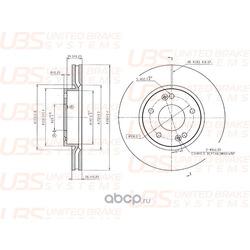 ТОРМОЗНОЙ ДИСК (UBS) BP2103002