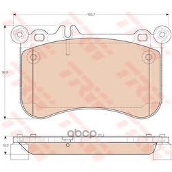 Колодки тормозные дисковые, комплект (TRW/Lucas) GDB1972
