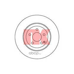 Тормозной диск (Nk) 203361