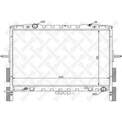 Радиатор (Stellox) 1026495SX