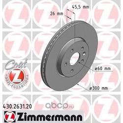 Тормозной диск (Zimmermann) 430263120