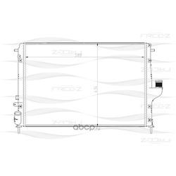 Радиатор (FREE-Z) KK0181