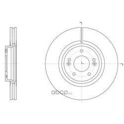 Тормозной диск (Remsa) 6151410