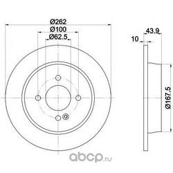Тормозные диски (Hyundai-KIA) 584110U300