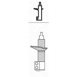 Амортизатор (MAGNETI MARELLI) 351811070000