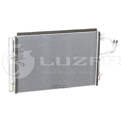 Радиатор кондиционера (конденсер) (Luzar) LRAC08X0