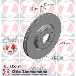 Тормозной диск (Zimmermann) 100335520
