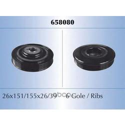 Ременный шкив, коленчатый вал (Malo) 658080