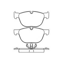 Колодки тормозные дисковые TEXTAR (Textar) 2417001