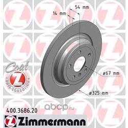 Тормозной диск (Zimmermann) 400368620