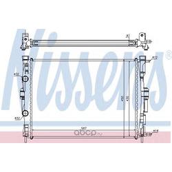 Радиатор охлаждения двигателя (Nissens) 63769