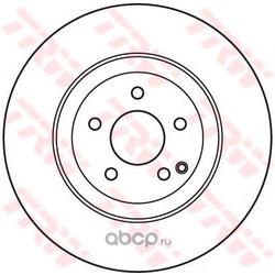 Диск тормозной вентилируемый (TRW/Lucas) DF7351S