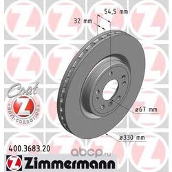 Тормозной диск (Zimmermann) 400368320