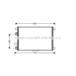 Радиатор кондиционера (Ava) RTA5305