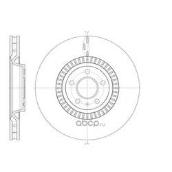 Тормозной диск (Remsa) 6144610