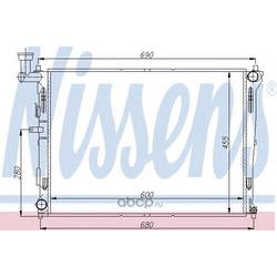 Радиатор охлаждения двигателя (Nissens) 66674