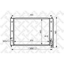 Радиатор (Stellox) 1025042SX