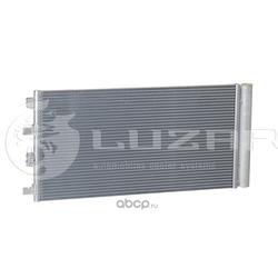 Радиатор кондиционера (конденсер) (Luzar) LRAC0950