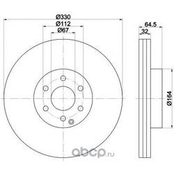 Диск тормозной TEXTAR (Textar) 92119903