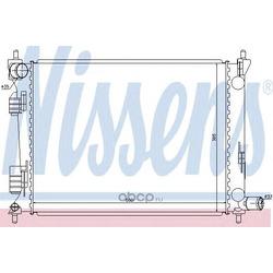 Радиатор, охлаждение двигателя (Nissens) 66756