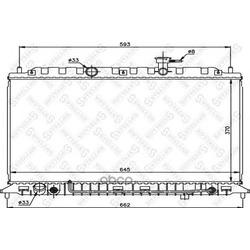 Радиатор (Stellox) 1025466SX