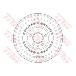 Тормозной диск (TRW/Lucas) DF6149S