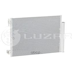 Радиатор кондиционера (конденсер) (Luzar) LRAC0978