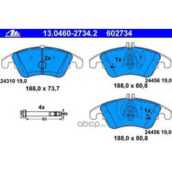 Колодки тормозные дисковые, комплект (Ate) 13046027342