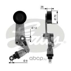 Натяжной ролик, поликлиновой ремень (Gates) T38286